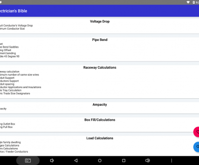 wire gauge calculator apk Electrician's Bible, Download, Android Productivity Apps Wire Gauge Calculator Apk Best Electrician'S Bible, Download, Android Productivity Apps Galleries