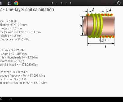 wire gauge calculator online Coil32, Download Android Wire Gauge Calculator Online Fantastic Coil32, Download Android Pictures