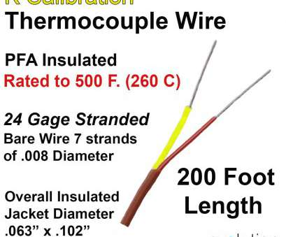 wire gauge chart diameter stranded Thermocouple Wire Type K 24 Gage Stranded, Insulated, ft Long Wire Gauge Chart Diameter Stranded Simple Thermocouple Wire Type K 24 Gage Stranded, Insulated, Ft Long Pictures