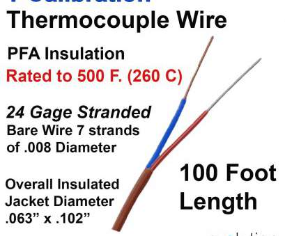 wire gauge chart diameter stranded Thermocouple Wire Type T 24 Gage Stranded, Insulated, ft Long Wire Gauge Chart Diameter Stranded Practical Thermocouple Wire Type T 24 Gage Stranded, Insulated, Ft Long Pictures