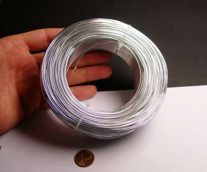 wire gauge 1.5 mm Aluminum wire 15 gauge, 1.5mm -, foot rool, good quality, silver, anodized wire -, meters Wire Gauge, Mm Top Aluminum Wire 15 Gauge, 1.5Mm -, Foot Rool, Good Quality, Silver, Anodized Wire -, Meters Images