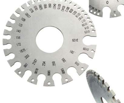 wire gauge awg swg Amazon.com: Ginode 1Pack Round, SWG Wire Thickness Ruler Tool Stainless Steel Wire Gauge Measure Diameter Gauge with 7PCS Fillet Weld, Gage Rl Gauge Wire Gauge, Swg Best Amazon.Com: Ginode 1Pack Round, SWG Wire Thickness Ruler Tool Stainless Steel Wire Gauge Measure Diameter Gauge With 7PCS Fillet Weld, Gage Rl Gauge Images