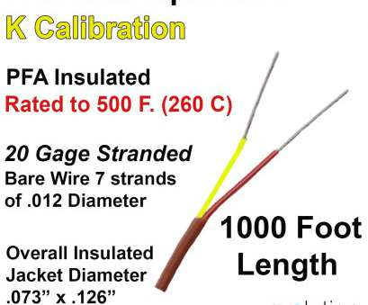 wire gauge to diameter calculator thermocouple wire type k 20 gage stranded, insulated 1000 ft long rh evosensors, Wire Gauge vs Inches Wire Gauge vs Inches Wire Gauge To Diameter Calculator Most Thermocouple Wire Type K 20 Gage Stranded, Insulated 1000 Ft Long Rh Evosensors, Wire Gauge Vs Inches Wire Gauge Vs Inches Galleries