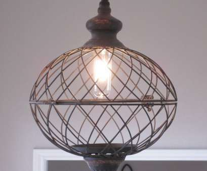 wire globe pendant light Made with a weathered, distressed black metal wire that looks like it is an antique. This would make a g Wire Globe Pendant Light Top Made With A Weathered, Distressed Black Metal Wire That Looks Like It Is An Antique. This Would Make A G Photos
