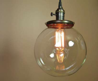 wire globe pendant light Pendant Light with 8 inch Clear Glass Globe, Edison Light Bulb included, Exposed Socket Design, Antique Reproduction Cloth Wire Wire Globe Pendant Light Best Pendant Light With 8 Inch Clear Glass Globe, Edison Light Bulb Included, Exposed Socket Design, Antique Reproduction Cloth Wire Pictures
