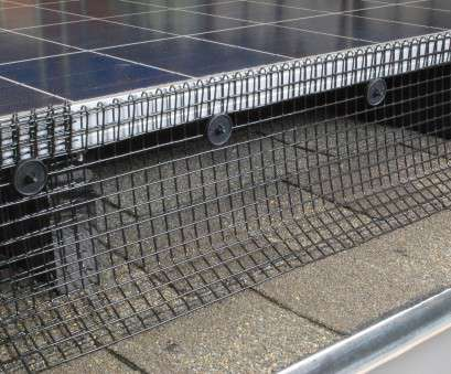 wire mesh around solar panels Solar Panel Bird Control Kit, Bird Barrier 16 Creative Wire Mesh Around Solar Panels Ideas