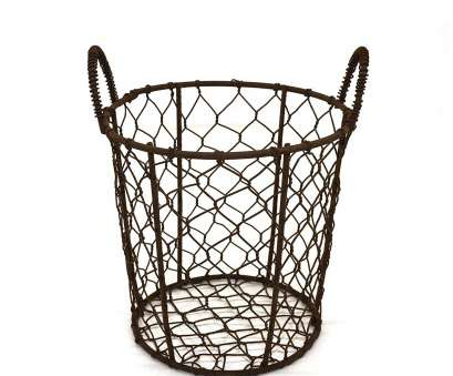 wire mesh egg basket Round Metal Wire, Basket Wire Gathering Basket with Handle Country Vintage Style Storage Wire Mesh, Basket Most Round Metal Wire, Basket Wire Gathering Basket With Handle Country Vintage Style Storage Pictures