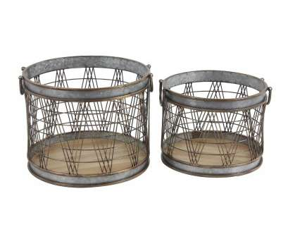 wire mesh baskets canada Shop, of 2 Industrial 13, 16 Inch Cylindrical Storage Wire Mesh Baskets Canada Most Shop, Of 2 Industrial 13, 16 Inch Cylindrical Storage Galleries
