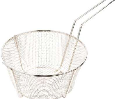 wire mesh baskets for cooking 11 1/2