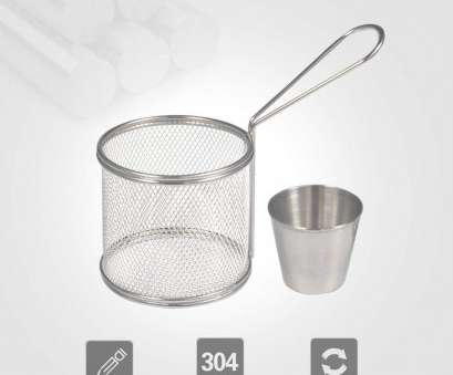 wire mesh baskets for cooking Amazon.com:, Baskets, Mini Round Stainless Steel French Fries Mesh Fryer Basket Holder Cooking Tool with Sauce, for Table Serving Food Presentation Wire Mesh Baskets, Cooking Most Amazon.Com:, Baskets, Mini Round Stainless Steel French Fries Mesh Fryer Basket Holder Cooking Tool With Sauce, For Table Serving Food Presentation Solutions
