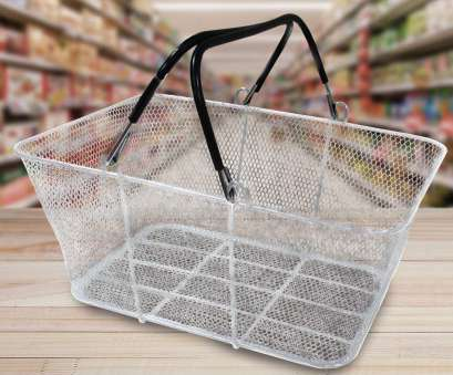 wire mesh baskets for cooking Silver Metal Mesh Shopping Basket, – 10 Pack (900224) Wire Mesh Baskets, Cooking Popular Silver Metal Mesh Shopping Basket, – 10 Pack (900224) Ideas