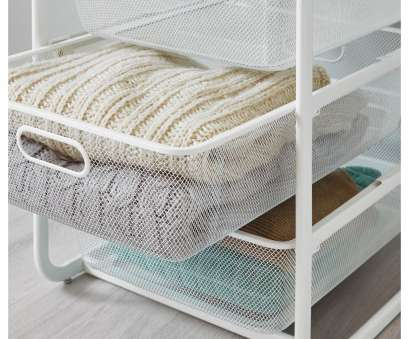wire mesh baskets ikea ALGOT Frame with 4 mesh baskets/top shelf, white Wire Mesh Baskets Ikea Most ALGOT Frame With 4 Mesh Baskets/Top Shelf, White Solutions