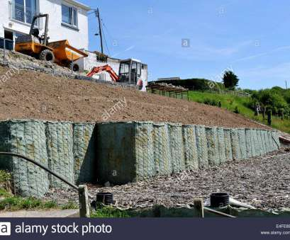 wire mesh baskets retaining walls Embankment retaining wall constructed with bastion wire mesh baskets filled with rock, geotextile membrane, Aberporth, Wales Wire Mesh Baskets Retaining Walls Practical Embankment Retaining Wall Constructed With Bastion Wire Mesh Baskets Filled With Rock, Geotextile Membrane, Aberporth, Wales Photos