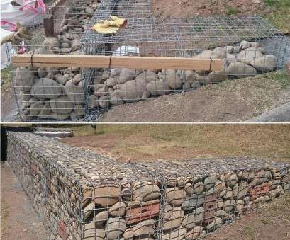 wire mesh baskets retaining walls gabion built with temporary timber supports .au, Garden on a slope ( Ogród na skarpie ), Pinterest, Retaining walls Wire Mesh Baskets Retaining Walls Most Gabion Built With Temporary Timber Supports .Au, Garden On A Slope ( Ogród Na Skarpie ), Pinterest, Retaining Walls Ideas