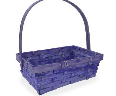 wire mesh baskets small Small Rectangular Bamboo Swing Handle Basket, Purple 8in Wire Mesh Baskets Small Best Small Rectangular Bamboo Swing Handle Basket, Purple 8In Solutions