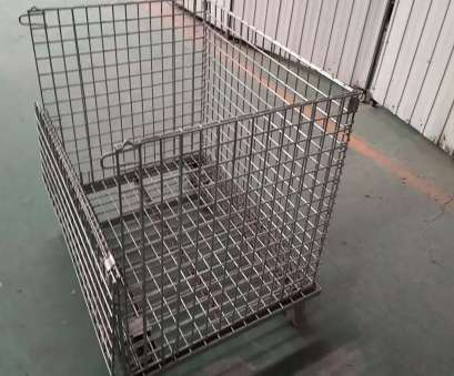 wire mesh baskets small Wire Mesh Pallet Cage,Metal Pallet Wire Baskets,40