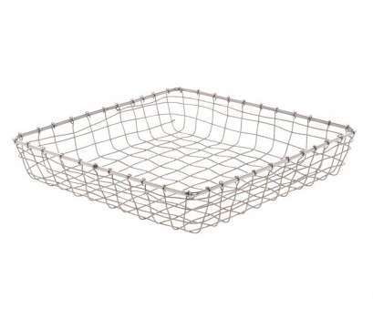 wire mesh baskets stainless steel Expressly HUBERT Square Stainless Steel Wire Mesh Baskets -, x 13 Brilliant Wire Mesh Baskets Stainless Steel Ideas