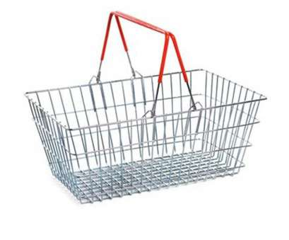 wire mesh baskets uk Wire Shopping Baskets, Handles (21L) Wire Mesh Baskets Uk Simple Wire Shopping Baskets, Handles (21L) Ideas