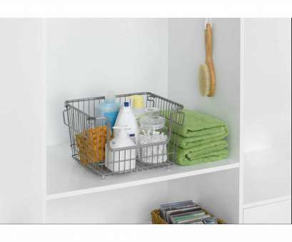 Wire Mesh Baskets Walmart New Chapter Large Stackable Wire Basket, Nickel Galleries