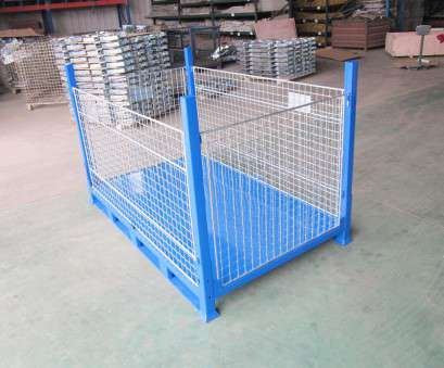 wire mesh box Steel pallet, / wire mesh / storage / folding, UN-MC0802 9 Practical Wire Mesh Box Ideas