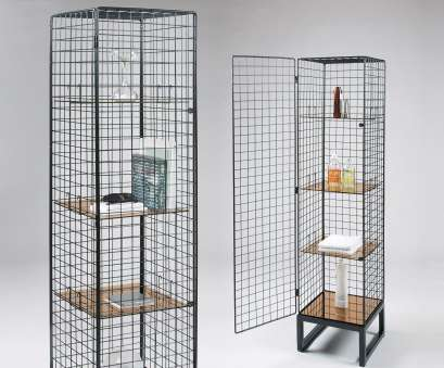 wire mesh for cabinets Narrow Wire Mesh Cabinet in Black Wire Mesh, Cabinets Practical Narrow Wire Mesh Cabinet In Black Images