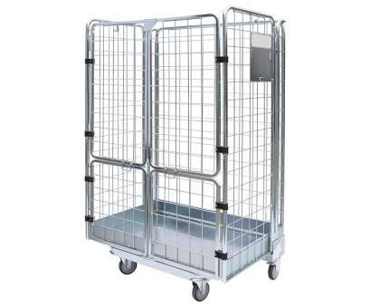wire mesh container 2 sides Stackable Rolling Metal Steel Wire Mesh Container from Wire Mesh Container Popular 2 Sides Stackable Rolling Metal Steel Wire Mesh Container From Solutions