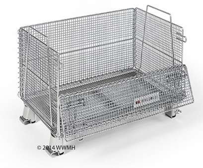 wire mesh container Collapsible Wire Container 20 x 32 x 22, WB203222/16,, Industries Wire Mesh Container Professional Collapsible Wire Container 20 X 32 X 22, WB203222/16,, Industries Solutions