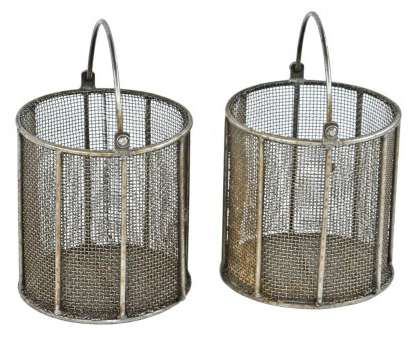 wire mesh dipping basket original matching, of heavily reinforced vintage american industrial drop handle mesh metal baskets with all-welded joint frames Wire Mesh Dipping Basket Most Original Matching, Of Heavily Reinforced Vintage American Industrial Drop Handle Mesh Metal Baskets With All-Welded Joint Frames Pictures