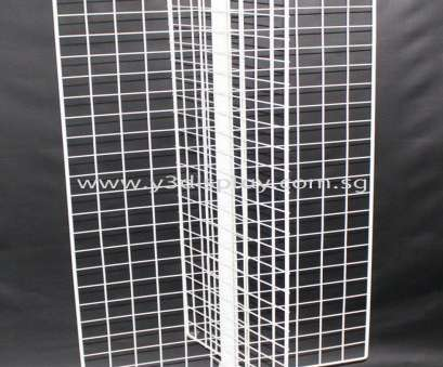 Wire Mesh Display Panels Singapore Cleaver 20405-5'H 4X, Rack Wire Mesh Display Display Racking Singapore Solutions