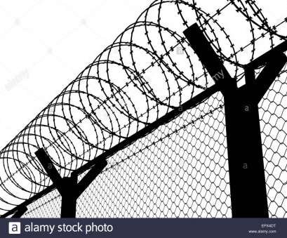 wire mesh fence drawing 1300x1067 Fence with a barbed wire, silhouette illustration Stock Photo Wire Mesh Fence Drawing Best 1300X1067 Fence With A Barbed Wire, Silhouette Illustration Stock Photo Photos
