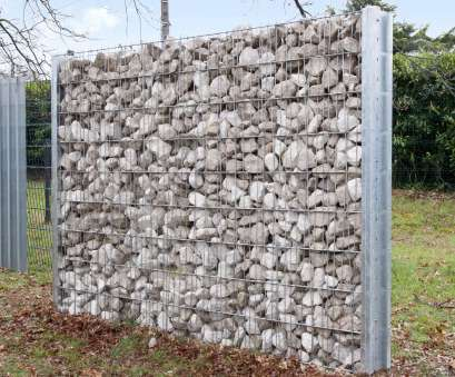 Wire Mesh Fence With Stones Professional Garden Fence /, Public Spaces / Wire Mesh / Steel, GABION OOBAMBOO™ Images