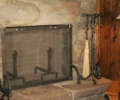wire mesh fire screen Morris L Wire Mesh Fire Screen Perfect Morris L Solutions