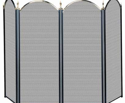 wire mesh flame screen 4 Panel Brass Fireplace Screen Wire Mesh Flame Screen Perfect 4 Panel Brass Fireplace Screen Images
