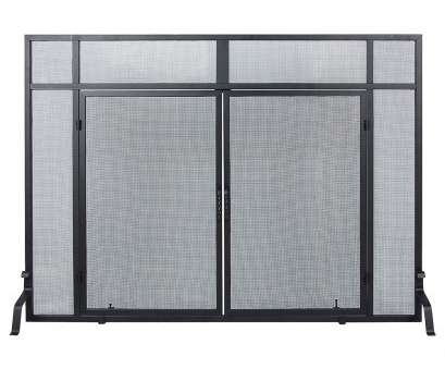 wire mesh flame screen Minuteman Windowpane Single Panel Iron Fireplace Screens & Reviews, Wayfair Wire Mesh Flame Screen Nice Minuteman Windowpane Single Panel Iron Fireplace Screens & Reviews, Wayfair Photos