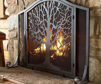 wire mesh flame screen Plow & Hearth Tree of Life Single Panel Iron Fireplace Screen & Reviews, Wayfair Wire Mesh Flame Screen Most Plow & Hearth Tree Of Life Single Panel Iron Fireplace Screen & Reviews, Wayfair Photos