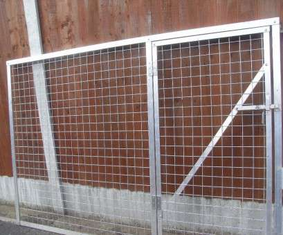wire mesh galvanised panels Mesh panel with integral gate, aluminium angle, galvanised steel mesh, nuts/bolts 13 Creative Wire Mesh Galvanised Panels Collections