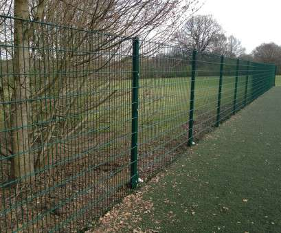 Wire Mesh, Garden Fence Popular Great Green Garden Fence Image Of, Coated Fencing Mesh Wire Metal Post, 1 Images