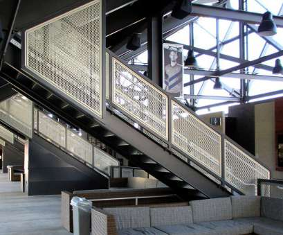 wire mesh handrail panels Gridguard Commercial Mesh Railings, Trex Commercial Products 9 Popular Wire Mesh Handrail Panels Images