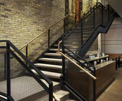 wire mesh handrail panels Starbucks Chicago Flagship, Staircase with Banker Wire railing infill, Infill Panels by Banker Wire Wire Mesh Handrail Panels Top Starbucks Chicago Flagship, Staircase With Banker Wire Railing Infill, Infill Panels By Banker Wire Collections