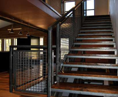 wire mesh handrail panels The Banker Wire mesh, U-edge frame harmonize visually with, weathered steel railing, reclaimed barn wood stair treads Wire Mesh Handrail Panels New The Banker Wire Mesh, U-Edge Frame Harmonize Visually With, Weathered Steel Railing, Reclaimed Barn Wood Stair Treads Galleries