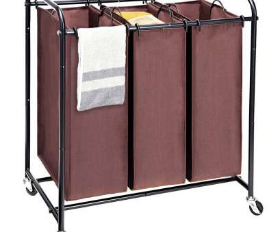 wire mesh laundry basket on wheels Get Quotations · MaidMAX Laundry Sorter, Metal Rolling Heavy-Duty Triple Laundry Hamper Cart Basket with 3 Wire Mesh Laundry Basket On Wheels Popular Get Quotations · MaidMAX Laundry Sorter, Metal Rolling Heavy-Duty Triple Laundry Hamper Cart Basket With 3 Galleries