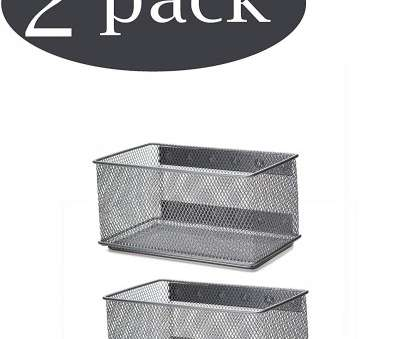 wire mesh magnetic baskets Ybmhome Wire Mesh Magnetic Storage Basket, Trash Caddy, Container, Desk Tray, Office Supply Organizer Silver for Wire Mesh Magnetic Baskets Top Ybmhome Wire Mesh Magnetic Storage Basket, Trash Caddy, Container, Desk Tray, Office Supply Organizer Silver For Galleries