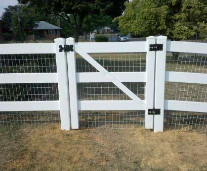 17 Best Wire Mesh On Vinyl Fence Pictures