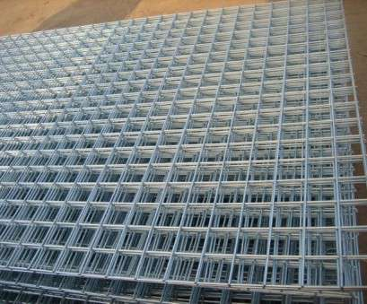 wire mesh panels 2 Pack Welded Wire Mesh Panels 2.4m x, (8ft x 4ft) Galvanised Steel Grid Sheets 50mm / 2