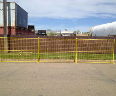 wire mesh panels edmonton Surface Treatment, powder coated yellow, 100% Welded, 6' x 9.5' with clip, plate. Wire Mesh 2