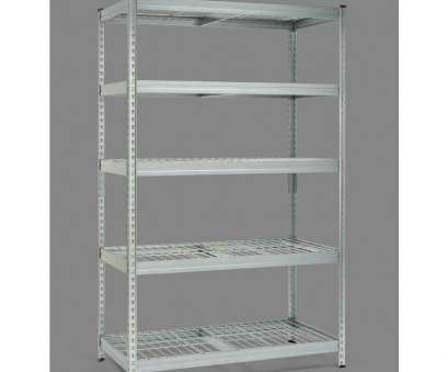 wire mesh panels milwaukee Husky 78, H x 48, W x 24, D Galvanized Steel 5-Tier Shelf with Wire Mesh Panels Wire Mesh Panels Milwaukee Perfect Husky 78, H X 48, W X 24, D Galvanized Steel 5-Tier Shelf With Wire Mesh Panels Pictures