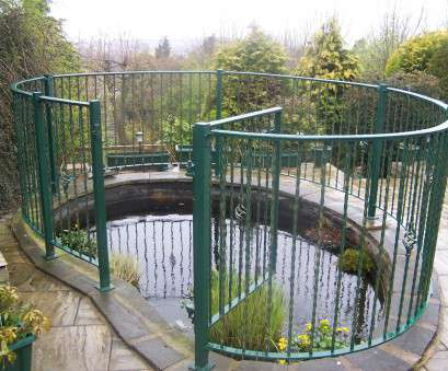 wire mesh panels for ponds Garden pond railings to ensure safety, still access, cleaning etc. made by www Wire Mesh Panels, Ponds Brilliant Garden Pond Railings To Ensure Safety, Still Access, Cleaning Etc. Made By Www Collections