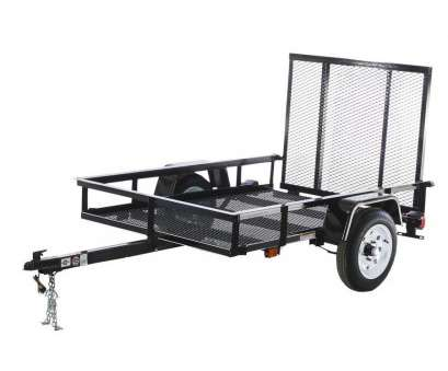 wire mesh panels for trailers Carry-On Trailer 4-ft x 6-ft Wire Mesh Utility Trailer with Wire Mesh Panels, Trailers Practical Carry-On Trailer 4-Ft X 6-Ft Wire Mesh Utility Trailer With Collections