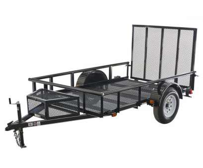 wire mesh panels for trailers Carry-On Trailer 5.5-ft x 9-ft Wire Mesh Utility Trailer with Wire Mesh Panels, Trailers Popular Carry-On Trailer 5.5-Ft X 9-Ft Wire Mesh Utility Trailer With Ideas