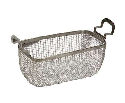 wire mesh parts baskets Branson 100-916-333 Stainless Steel Mesh Basket, Model 1800 Bransonic Ultrasonic Cleaners, 1/4